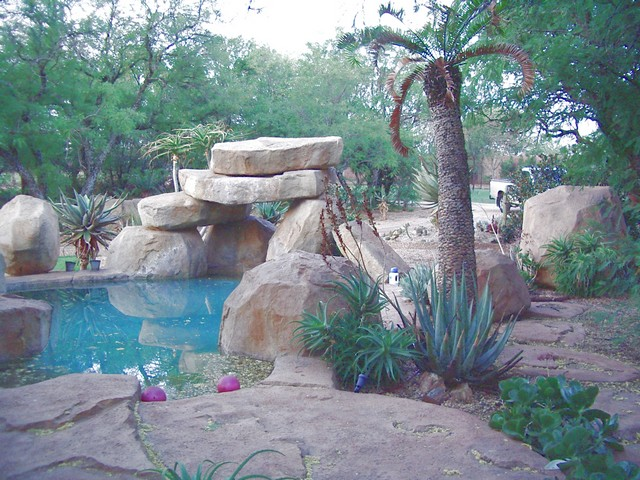 designer gardens landscaping pretoria centurion irrigation koi